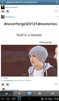 #Neverforget20121dmemories unforgettable! I love my snowflake/goldilox even if he isn't Hazza the beanie baby!
