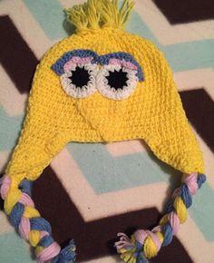 Big bird crocheted hat by CraftyDiva23 on Etsy
