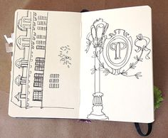 Sketchbook Sneak Peek: Courtney Wotherspoon from Design*Sponge