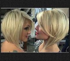 Resultado de imagem para cortes de cabelos curtos para senhora gorda