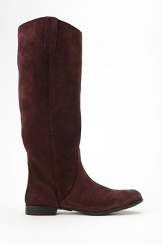 Urban Outfitters - BDG Suede Riding Boot