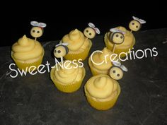 Buzzy Bees - Bumble Bee Cupcakes | How it all began @ Sweet-Ness Creations