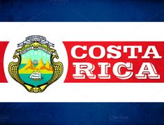 Costa Rica poster | Great for Spanish classrooms  Showcase the crest, colors and flags of Spanish-speaking countries with these posters, available in 8.5 x 11, 11 x 17 and other sizes by request (hi@natalievenuto.com)