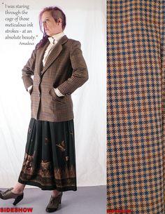 Vintage 1980's Brown Tweed Women's BLAZER // Conservative/ Book Nerd // Size: Medium, $26.00