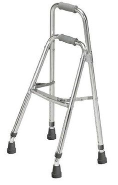 Walkers and Canes: Side Step Folding Walker Adult Drive Hemi Aluminum 300 Lbs. 29.5 To 37 Inch BUY IT NOW ONLY: $33.16