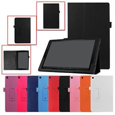Kindle Fire Case ,Magnetic Leather Stand Cover Case For Amazon Kindle Fire HD 10 2017 7th (Hot Pink) #Kindle #Fire #Case #,Magnetic #Leather #Stand #Cover #Amazon #(Hot #Pink)