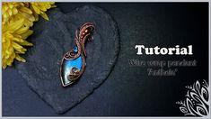 Wire Tutorials, Craft Tutorials, Craft Ideas, Wire Jewelry Designs, Metal Clay Jewelry, Precious Metal Clay, Wire Weaving, Wire Work, Weave