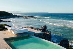 Plunge pool on the rocks at Birkenhead House, South Africa. Photograph by David Crookes for Condé Nast Traveller.