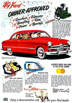 Collectibles Official Website Original Print Ad 1950 Mercury Better Than Ever Thriftier With Gas Vintage Art Numerous In Variety