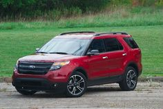 2014 Ford Explorer Sport Ruby RED