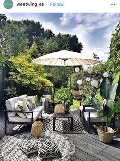 Outdoor Rooms, Outdoor Living, Outdoor Furniture Sets, Outdoor Decor, Interior Design Studio, Home Interior, Patio Design, Garden Design, Sweet Home