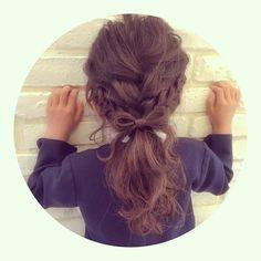 Hair Arrange, Toddler Hair, Cute Hairstyles, Your Hair, Kids Fashion, Hair Beauty, Daughter, Dreadlocks, Long Hair Styles