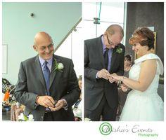 The Spinnaker Tower, Portsmouth wedding - The ceremony  Copyright: www.alishaseventsphotography.co.uk