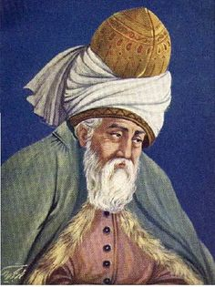 Rumi (1207 to 1273) was born in the eastern-most province of Persia, but his family fled west during the Mongol invasion, and he lived most of his life in the Sultanate of Rum, in present-day Turkey.