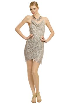 WARDROBE ITEM:  Haute Hippie Lucky For You Lace Dress