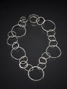 Handmade sterling silver chains