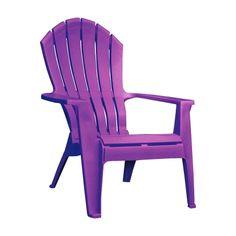 Adams Real Comfort Resin Adirondack Chair (8371-12-3900) - Adirondack & Rocking Chairs - Ace Hardware