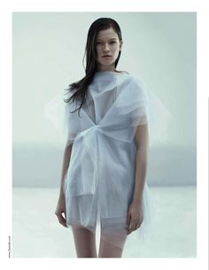 kasia struss, jil sander ss08 by willy vanderperre