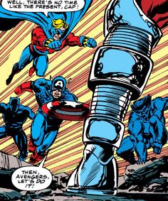 The Avengers vs the Collector