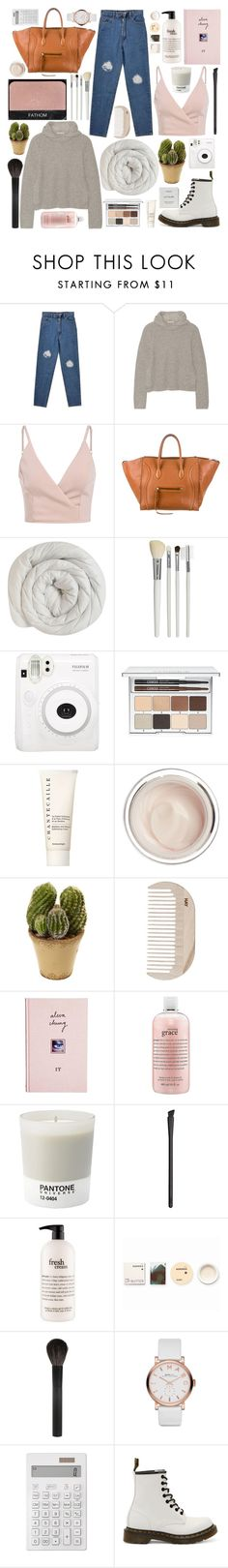 """""""Untitled #464"""" by inkcoherent ❤ liked on Polyvore featuring Michael Kors, CÉLINE, NARS Cosmetics, Cath Kidston, Fuji, Clinique, Chantecaille, Dr. Sebagh, Nearly Natural and HAY"""