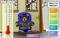 Interactive Education: science weather