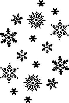 Snowflakes - Free , Clip art by molumen and more and are constantly expanding our content with exclusive files. Snowflake Silhouette, Silhouette Clip Art, Frozen Silhouette, Christmas Stencils, Christmas Snowflakes, Christmas Clipart, Christmas Crafts, Xmas, Snowflake Background