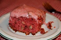 Deep South Dish: Featured Reader Recipe: Southern Strawberry Cake with Coconut and Pecan