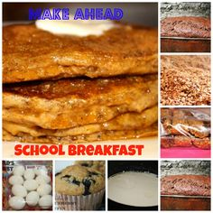 Make ahead and freezer friendly breakfast