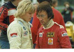 Stefan Johansson & Eddie Jordan 1980? by Racing Pics 1980s, via Flickr