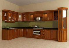 Modern Home Decor Kitchen Kitchen Cupboard Designs, Bedroom Cupboard Designs, Kitchen Room Design, Diy Kitchen Storage, Home Decor Kitchen, Interior Design Kitchen, Kitchen Living, Living Room, Cabnits Kitchen
