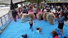 Fun Rainbow Park Installation by Adam Kalinowski | Wave Avenue