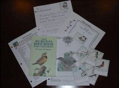 Burgess Book of Birds printables