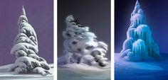 Awesome tree concepts from Frozen, by artist Lisa Keene - Album on Imgur