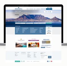Protea Hotels Redesign on Behance Hotel Website, Cape Town, Hotels, Behance, Tours