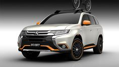 The Nippon company will take the veils off four leisure-oriented, customized vehicles at the Tokyo Auto Salon 2016 next week. Described by the car mak. Outlander Phev, Mitsubishi Outlander, Subaru, Mitsubishi Cars, European Road Trip, Pajero Sport, Detroit Auto Show, Off Road Adventure, Motorcycle News