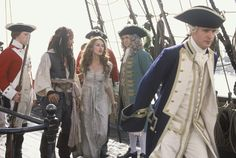 Commodore Norrington. This article explains exactly how I feel about this uncelebrated character. Long live POTC!