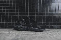 Nike Air Huarache Run - Triple Black