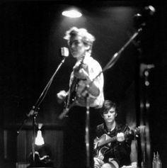 1961 - George Harrison and Stuart Sutcliffe.