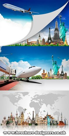 travel images suitable for travel agency brochures www.brochure-designers.co.uk #travel #vacation #flying