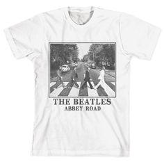 Camiseta Unissex The Beatles - Abbey Road White