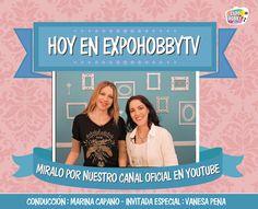 HOY en EXPOHOBBY TV: Vanesa Pena nos enseña a decorar un antifaz ideal para fiestas de quince! No te lo pierdas! #Antifaz #FiestaDeQuince #UnaFiestaDiferente #VanesaPena #MascarasVenecianas #Hoy #ExpohobbyTv #Miralo #Arte #Manulidades #Youtube Vanesa Pena