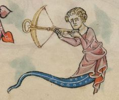 Detail from The Luttrell Psalter, British Library Add MS 42130 (medieval manuscript,1325-1340), f20r