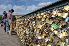 """Wird der """"Lover's Bridge"""" die Liebe zur Last?"""
