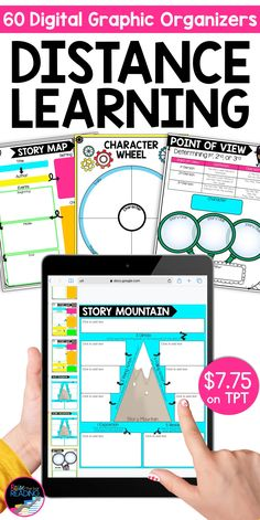 Tons of reading graphic organizers for any novel. Great for distance learning and reading response for independent reading or online reading. Fiction digital reading resource for Google Classroom like story mountain graphic organizers, sequencing graphic organizer, analyzing character traits, cause and effect Teaching Skills, Learning Resources, Teaching Reading, 6th Grade Reading, Reading Comprehension Strategies, Special Education Classroom, Classroom Inspiration, Google Classroom, Graphic Organizers