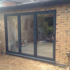 ALUMINIUM BI-FOLD DOORS SMARTS REPLACE PATIO OR FRENCH DOORS £298 + VAT PER M2