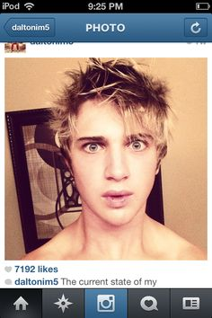 Can you stop being so good looking dalton?? Im5