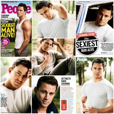Channing Tatum...People Magazine's Sexiest Man Alive