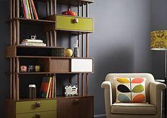 Orla Kiely designed wall unit