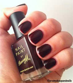 Barry M. Nail Polish - Red Black (#115)