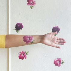 """1,166 Likes, 18 Comments - Tattly Temporary Tattoos (@tattly) on Instagram: """"Guggenheim curator @punkorientalism has a trained eye for hanging artwork on museum walls. When it…"""""""
